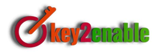 Key2Enable Assistive Technology logo